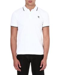 McQ by Alexander McQueen Mcq Logo Polo Shirt Alexander Mcqueen White - Lyst