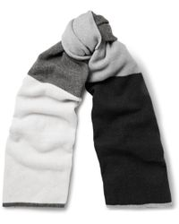 The Elder Statesman Oversized Wool and Cashmere-blend Scarf - Lyst