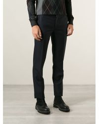 Lanvin Tailored Trousers - Lyst