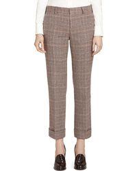 Brooks Brothers Wool Fun Pants - Lyst