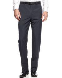 Calvin Klein Navy Pinstripe Slimfit Suit - Lyst