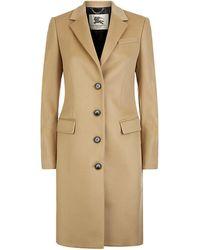 Burberry London Sidlesham Wool Cashmere Coat - Lyst