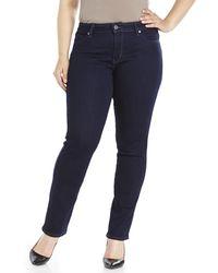 Levi's Flatters & Flaunts Mid Rise Skinny Jeans - Lyst
