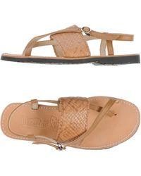Virreina Thong Sandal - Natural