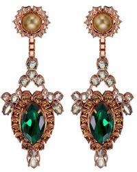 Mawi Gemstone Drop Earrings - Lyst