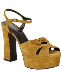 Saint Laurent - Candy Cross Knot Sandal 125 - Lyst