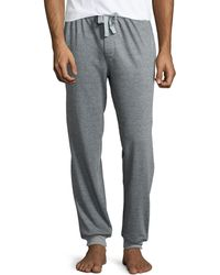 Kenneth Cole Jersey Lounge Pants - Lyst