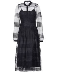 Burberry Prorsum Tulle Dress - Lyst