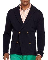 Ralph Lauren Polo Pima Sweater Blazer - Lyst