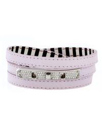 Henri Bendel Debutante Triple Wrap Bracelet - Lyst