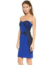 Diane Von Furstenberg Dvf Isabella Dress  Cosmic Cobalt Black - Lyst