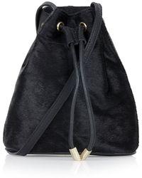 Topshop Pony-effect Duffle Bag - Lyst