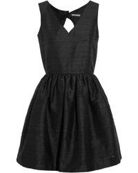 House Of Holland April Silk-shantung Mini Dress - Lyst