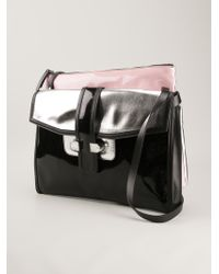 Antonio Marras - Colour Block Shoulder Bag - Lyst