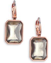 Michael Kors | Parisian Jewels Cushion Leverback Earrings | Lyst