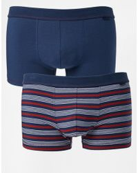 Esprit - Stripe 2 Pack Trunks - Lyst