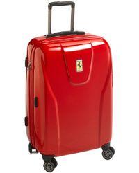 Ferrari - 'hi-tech - Medium' Wheeled Suitcase - Lyst