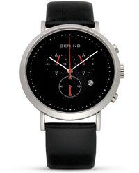 Bering - Classic Chronograph Watch, 40mm - Lyst