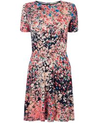 Oasis Clustered Ditsy Print Dress multicolor - Lyst