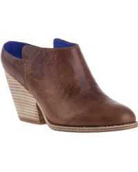 Jeffrey Campbell Vinton Mule Brown Leather - Lyst
