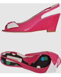 Kenzo Pink Wedge - Lyst