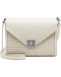 Mulberry Delphie Reversible Woven Leather Over The Shoulder Handbag - For Women - Lyst