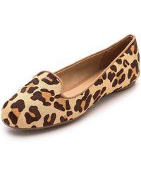 Splendid Cannes Haircalf Smoking Shoes Leopard - Lyst
