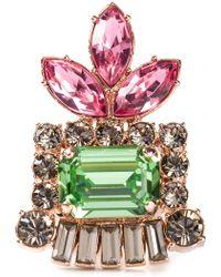Mawi - Embellished Chunky Ring - Lyst