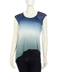 Young Fabulous & Broke Ombre Combo Highlow Top - Lyst