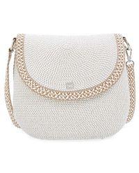 Eric Javits | Squishee Packable Woven Demi Pouch Shoulder Bag | Lyst