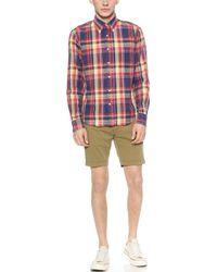Gant Rugger - Summer Chino Shorts - Lyst