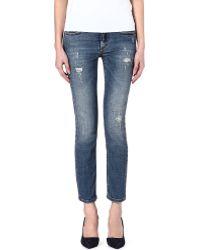 Victoria Beckham Vb2 Skinny Midrise Jeans Kept - Lyst