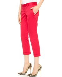 DSquared2 Pat Pants - Red - Lyst