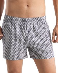 Hanro Fancy Woven Floral-print Boxer Shorts - Lyst