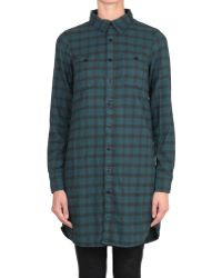 HTC Oversized Cotton Shirt - Lyst