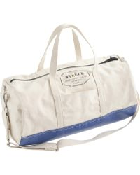 J.Crew - Steele Canvas Basket Corp.™ Steeletex™ Gym Bag - Lyst