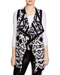 Karen Kane - Reversible Cotton Vest - Bloomingdale's Exclusive - Lyst