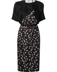 Band Of Outsiders Cascade Dress - Lyst