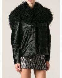 Jay Ahr Oversized Collar Jacket - Lyst