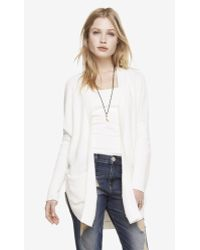 Express Chunky Round Hem Cover-up - Lyst