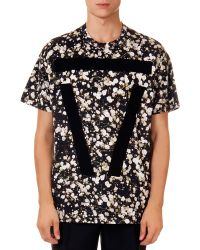 Givenchy Allover Babys Breath-Print Tee - Lyst