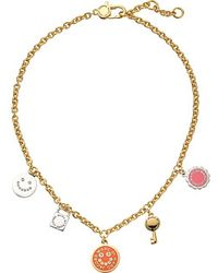 Marc By Marc Jacobs Logo Disc-O Happy House Charm Necklace - Lyst