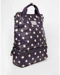 Cath Kidston Double Decker Backpack - Blue