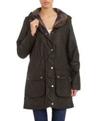 Barbour Durham Drawcord Jacket green - Lyst