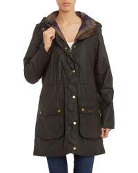 Barbour Durham Drawcord Jacket - Lyst