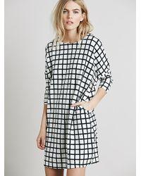 Free People Womens Hannah Printed Knit Dress - Lyst
