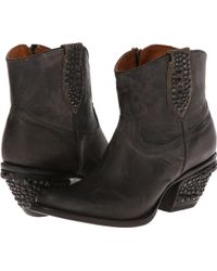 Lucchese boots heel boots ankle boots - Lyst