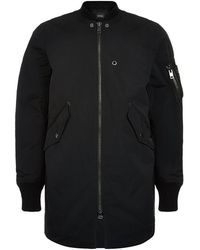 DIESEL | Quilted Bomber Coat | Lyst