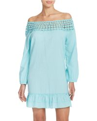 Amita Naithani - Tunic Dress Swim Cover Up - Lyst