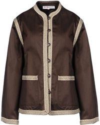 Yves Saint Laurent Rive Gauche Blazer brown - Lyst